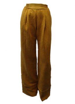 N0818 Calça Boxe pesada (amarela)