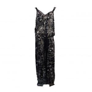 N0918 a multi dress longo