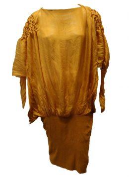 N1618 Vestido Midi (amarelo)